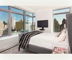 Live in the Sky. High End One Bed | Amazing Views of Hudson River | 10 yr Tax Abatement |