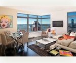 W New York Downtown: One Bedroom, One Bathroom Condo. Enjoy 9/11 Memorial Park and Statue of Liberty Views.