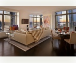 W New York Downtown. Residences at the W Hotel. Incredible Corner 2 Bedroom W/ Potential for 3 Bedroom Combination. Fantastic Opportunity.  