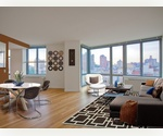Upper West Side. A Real Show Stopper. Corner One Bedroom with skyline and park views. Gourmet kitchen. Granite countertops. Washer/Dryer. Huge bathrooms. Brand new everything! Low fee.