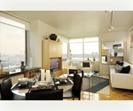NO FEE LUXURY TRUMP RENTAL! Tremendous Three Bedroom Overlooking the Hudson !